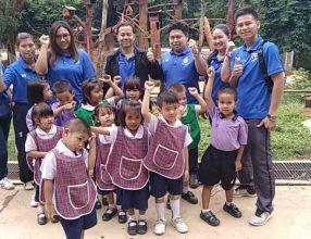 โรงเรียนได้พานักเรียนชั้นอนุบาลไปทัศนศึกษาแหล่งเรียนรู้นอกสถานที่ ณ สวนสัตว์เปิดเขาประทับช้าง
